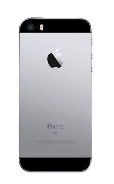 Iphone SE zadný kryt, space grey/ sivý